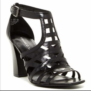 Franco Sarto Jessa Sandal Heels Sz. 7.5